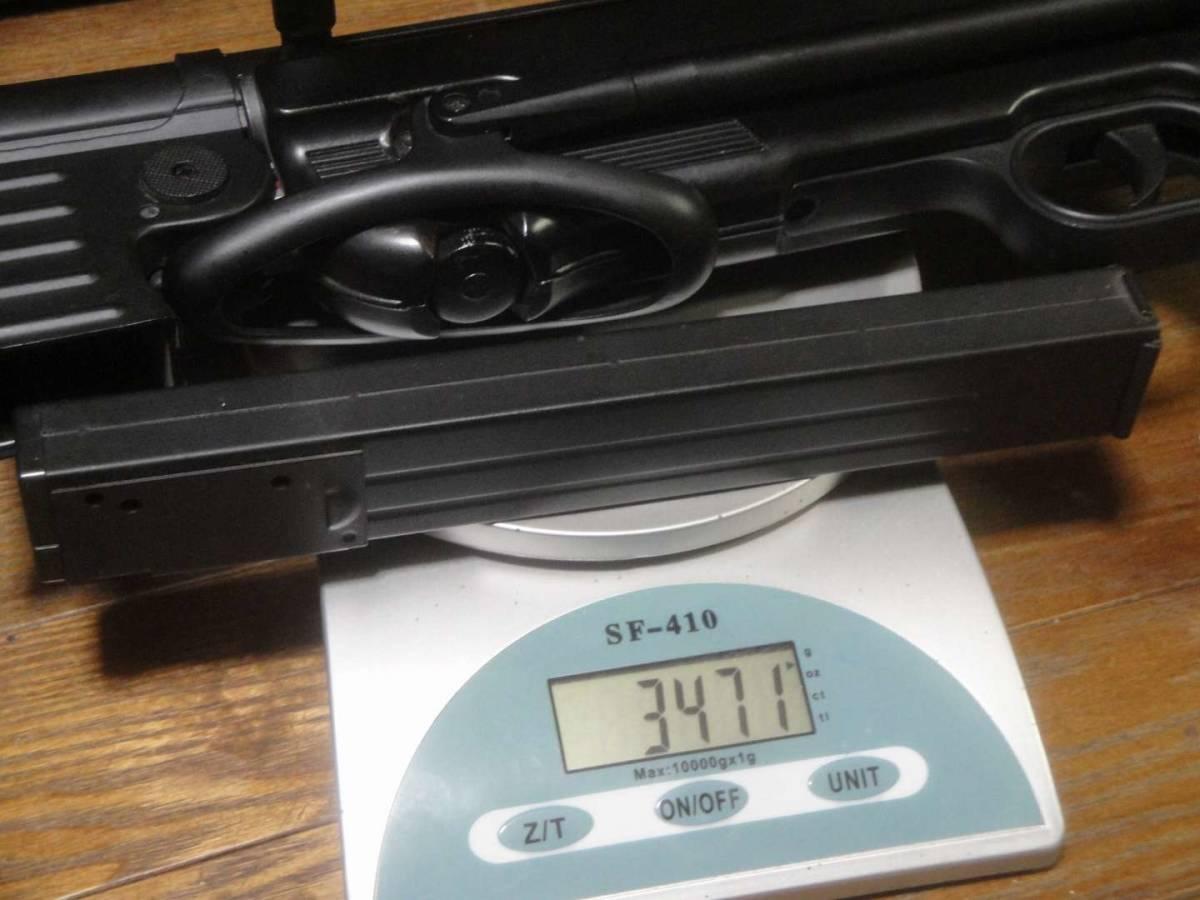 AGM製 MP40 電動ガン セレクター除去 実動 塗装剥げ有り 重量増加 重くて武骨なシュマイザー_画像7