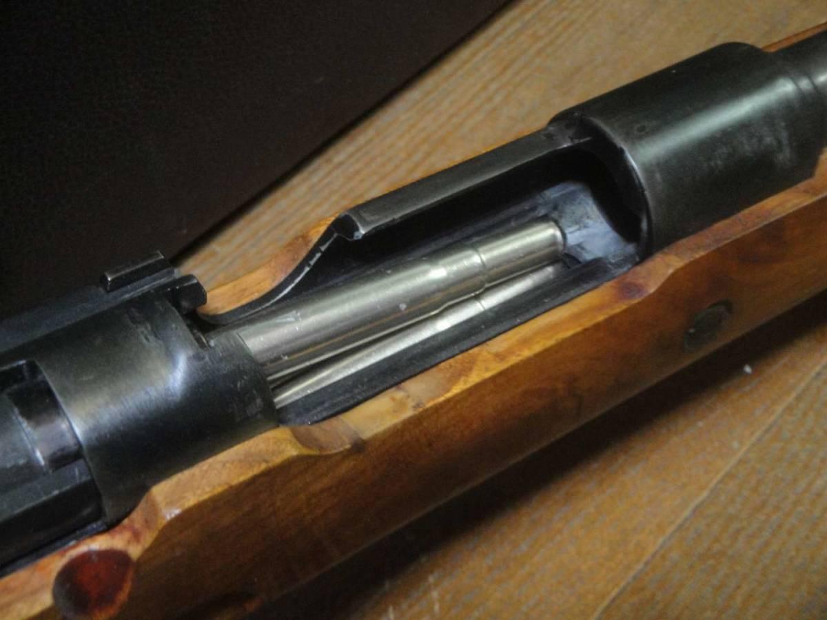 D-BOYS モーゼル98k 木製ストックと本体部分は再仕上げしましたのでモデルガン並みの見た目 カート式エアガン 送料無料_画像6