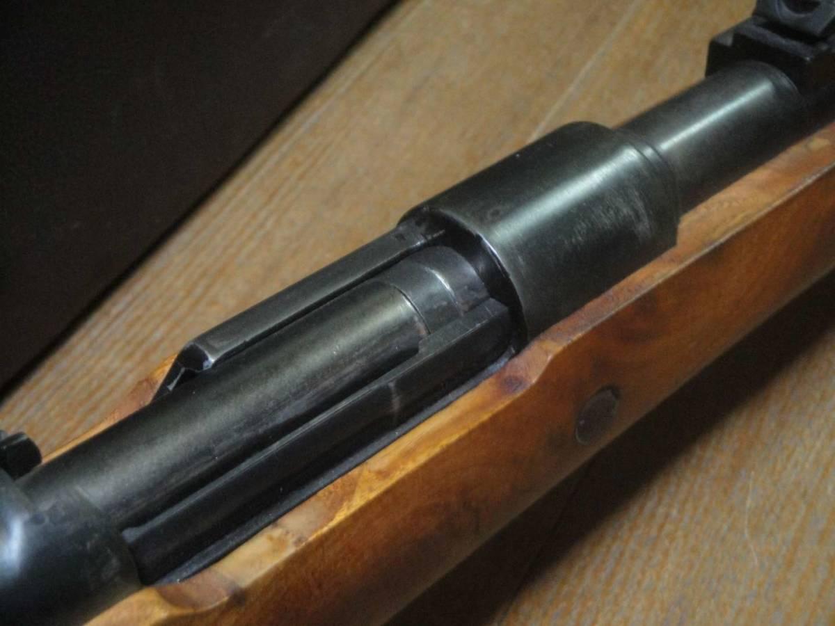 D-BOYS モーゼル98k 木製ストックと本体部分は再仕上げしましたのでモデルガン並みの見た目 カート式エアガン 送料無料_画像5