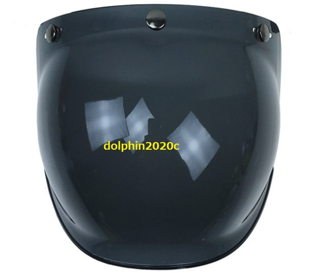 再入荷!バイク ジェットヘルメット ビンテージ バブルシールド ゴーグル マスク バイザー ハーレー アメリカ バイカー ヘルメット YH-XY13_画像5