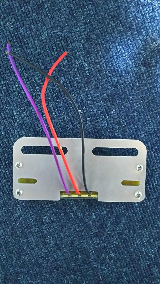 24V LED アンダーライト付き サイドマーカー 青 ブルー 車高灯 路肩灯 マーカー球 ダウンライト_画像3