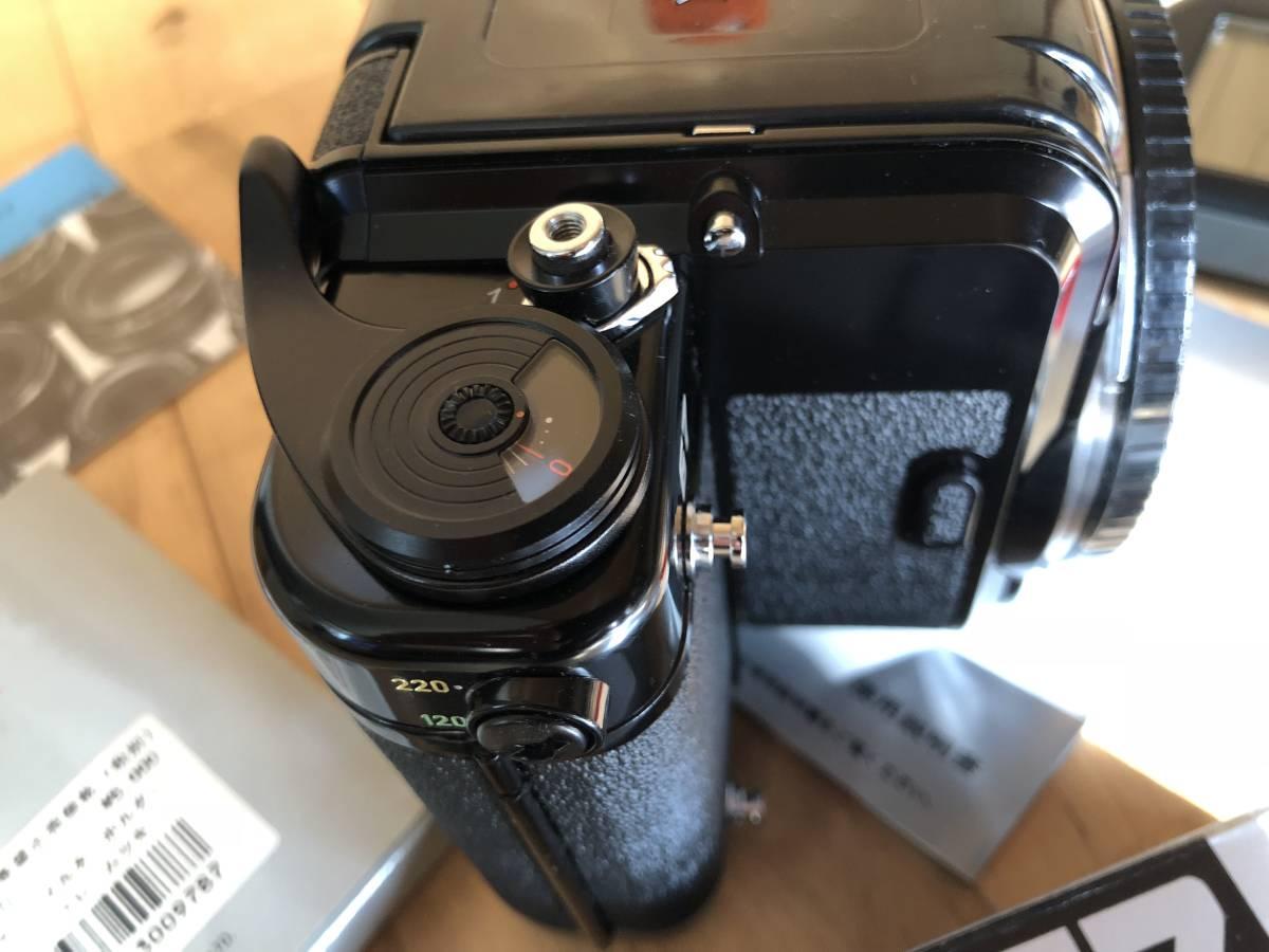 【中古】極美品 PENTAX ペンタックス 67 中判フィルムカメラ & レンズSMC PENTAX67 マクロ135mmF4_画像5