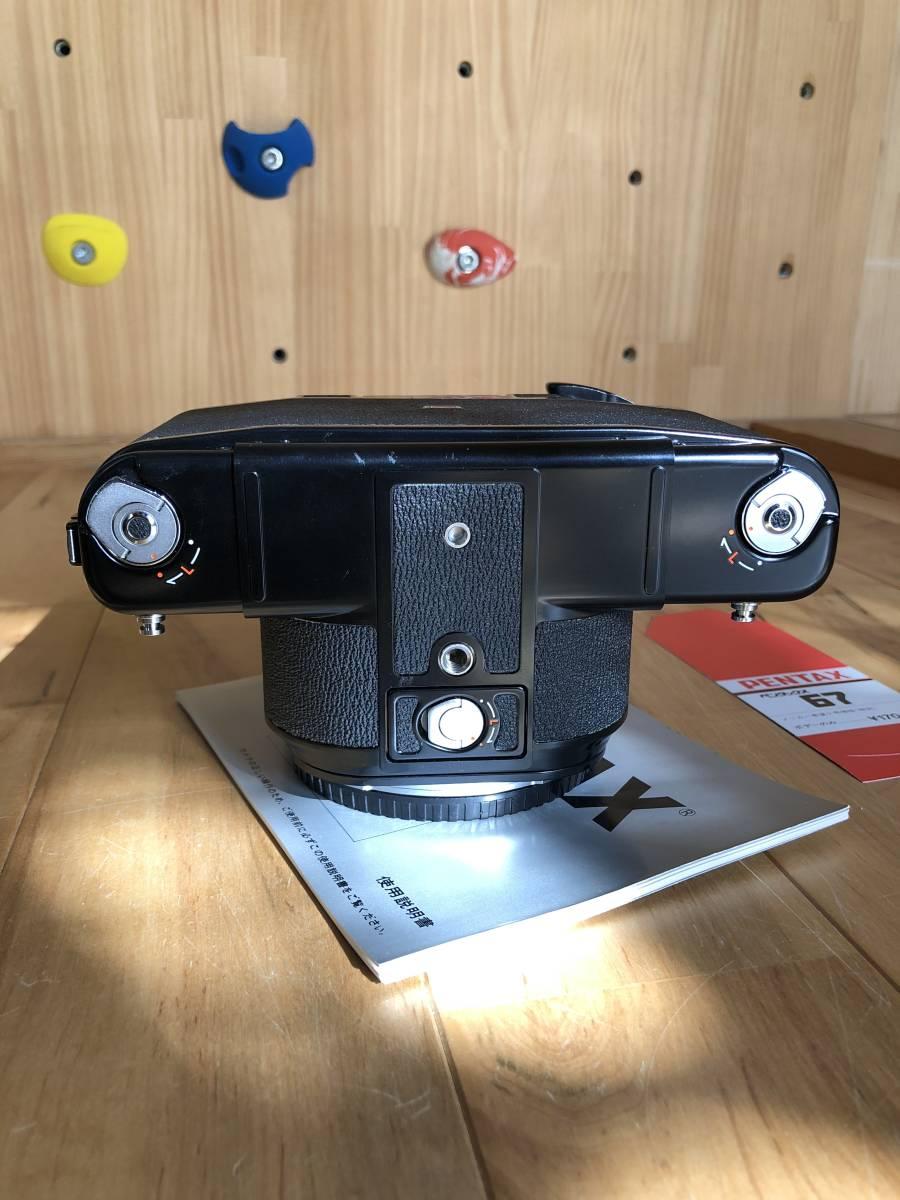 【中古】極美品 PENTAX ペンタックス 67 中判フィルムカメラ & レンズSMC PENTAX67 マクロ135mmF4_画像3