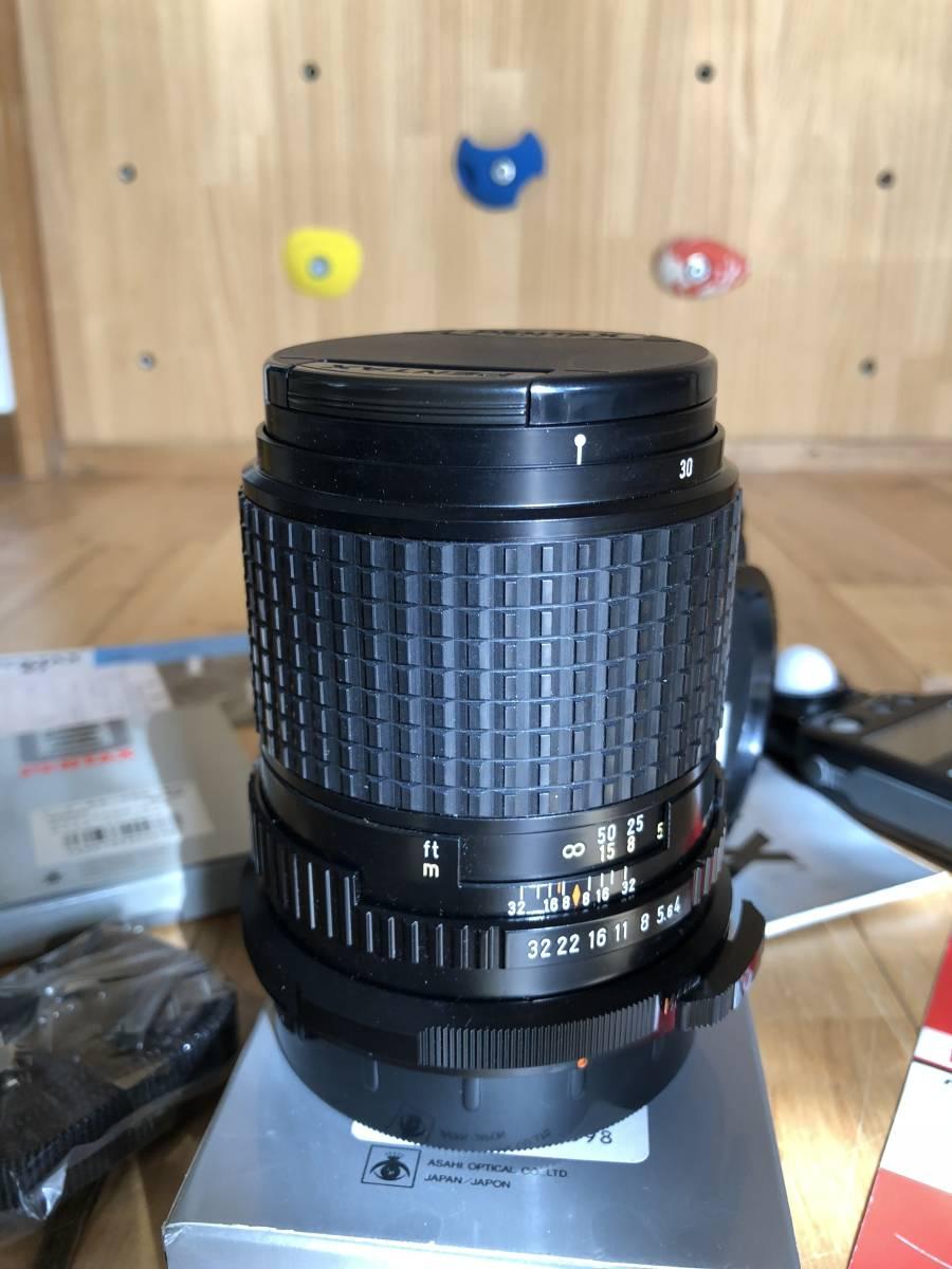 【中古】極美品 PENTAX ペンタックス 67 中判フィルムカメラ & レンズSMC PENTAX67 マクロ135mmF4_画像7