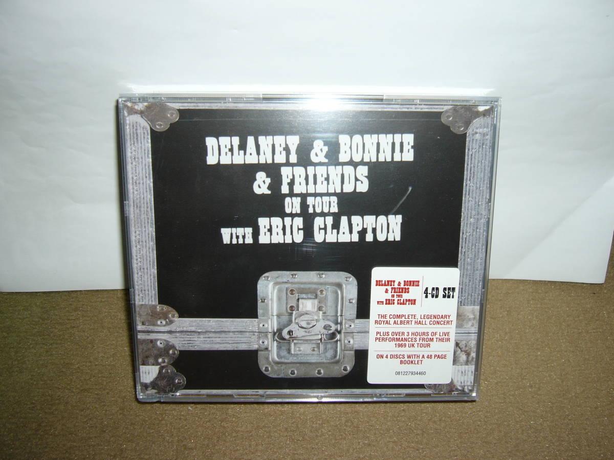 音楽性転換期の貴重なライヴ音源 傑作「Delany & Bonnie & Friends with Eric Clapton」拡大版四枚組 輸入盤 未開封新品。