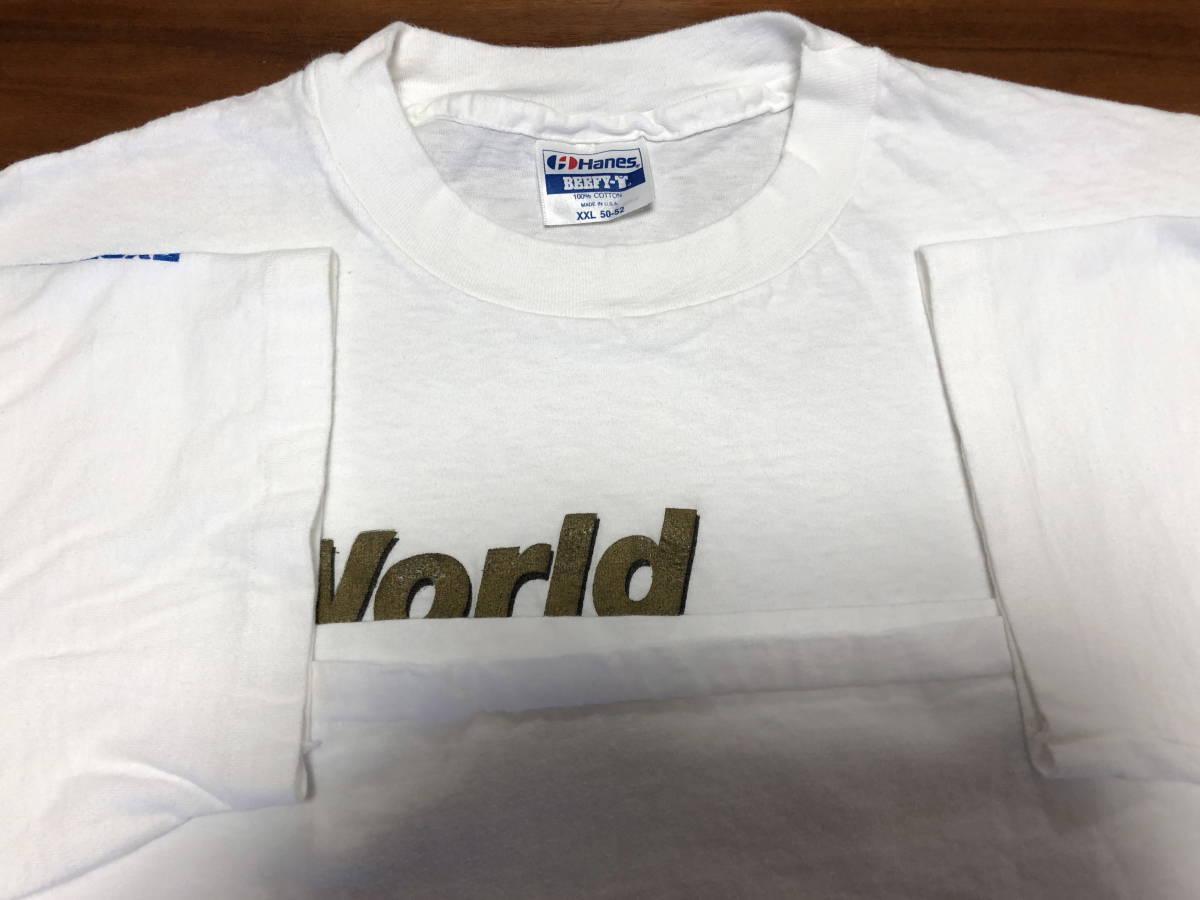 90s ビンテージ NEW ORDER プロモ Tシャツ XXLサイズ 90年代 ヴィンテージ ニューオーダー バンドT ラフシモンズ NIRVANA SONIC YOUTH RAF_画像2