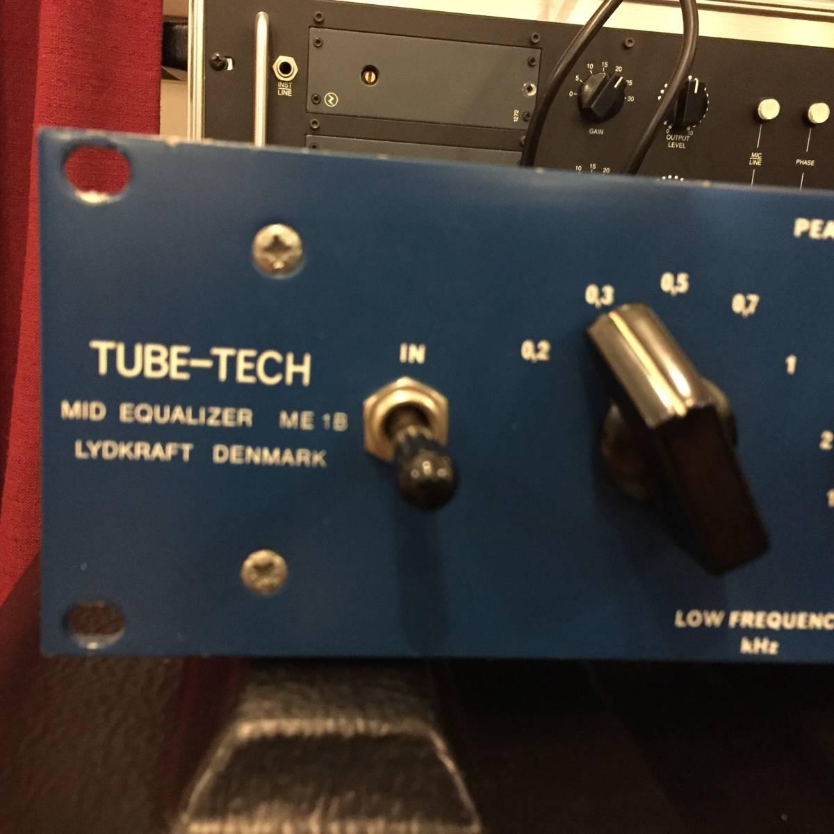 ★動作確認★【ヒビノ正規品】 TUBE-TECH ME1B ミッドレンジイコライザー NEVE、AVALON DESIGN、SSL、API_画像5