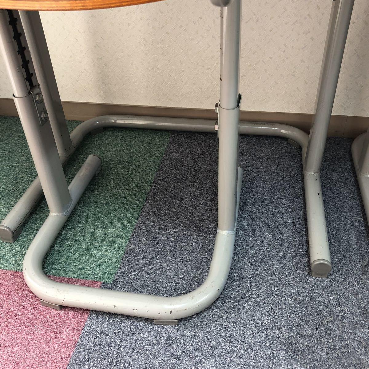 学習塾、学校用学習机と椅子 2組_画像5