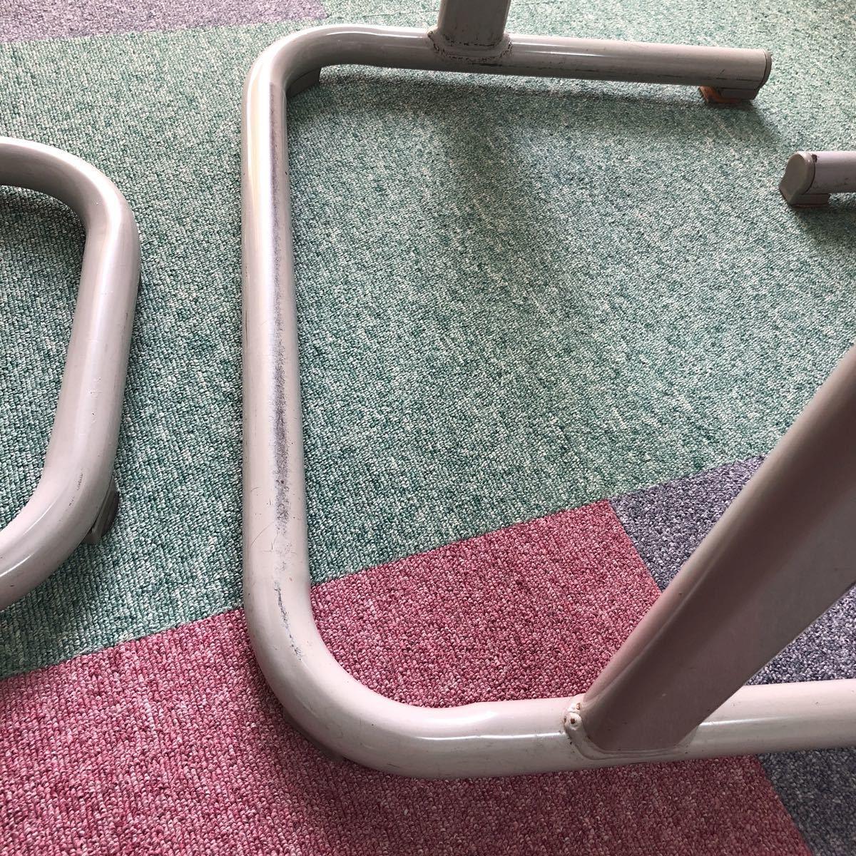 学習塾、学校用学習机と椅子 2組_画像3