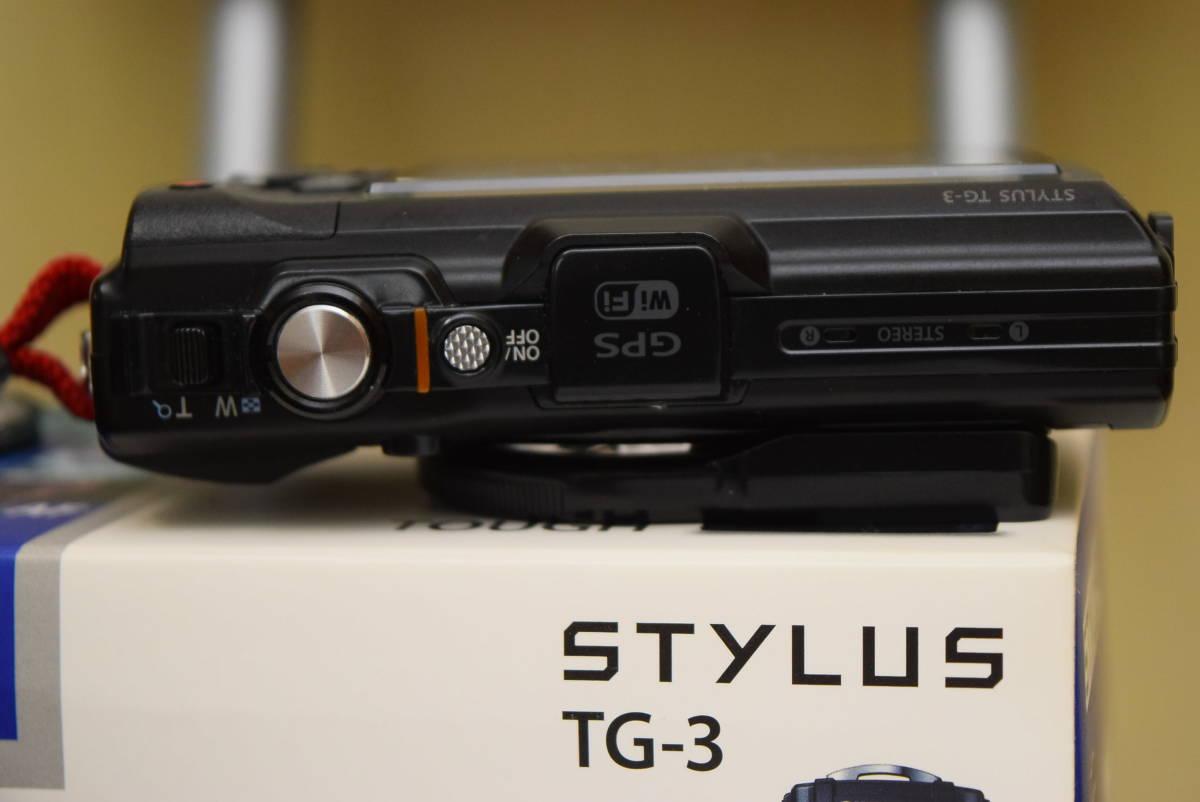OLYMPUS STYLUS TG-3 Tough F2.0 Wi-Fi GPS オマケで LEDライトガイド LG-1と社外レンズガード付き 付属品完備 オリンパス デジタルカメラ_画像6
