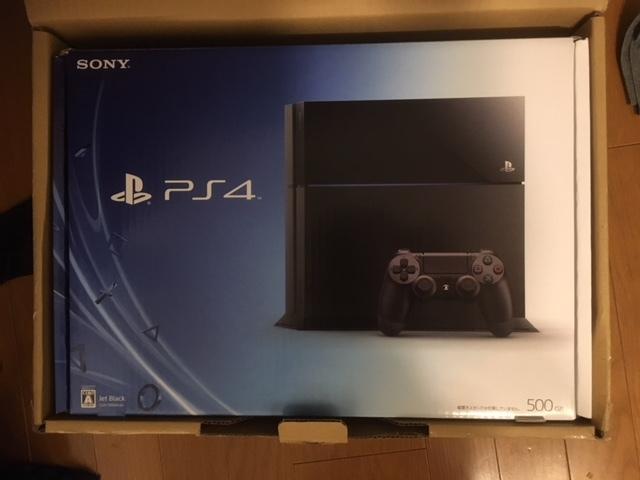 PS4本体 PlayStation 4 500GB (CUH-1000AB01) 中古、修理完了品 保証3か月あります!付属品全てあり!送料無料!