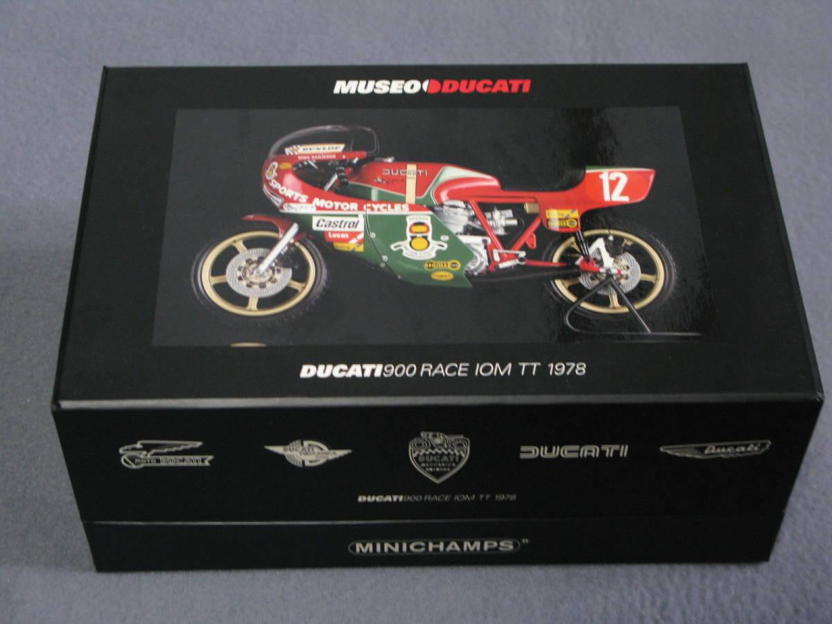 ミニチャンプス Minichamps 1/12 Mike Hailwood Ducati 900 Racer IOM TT 1978 希少【送料込み】