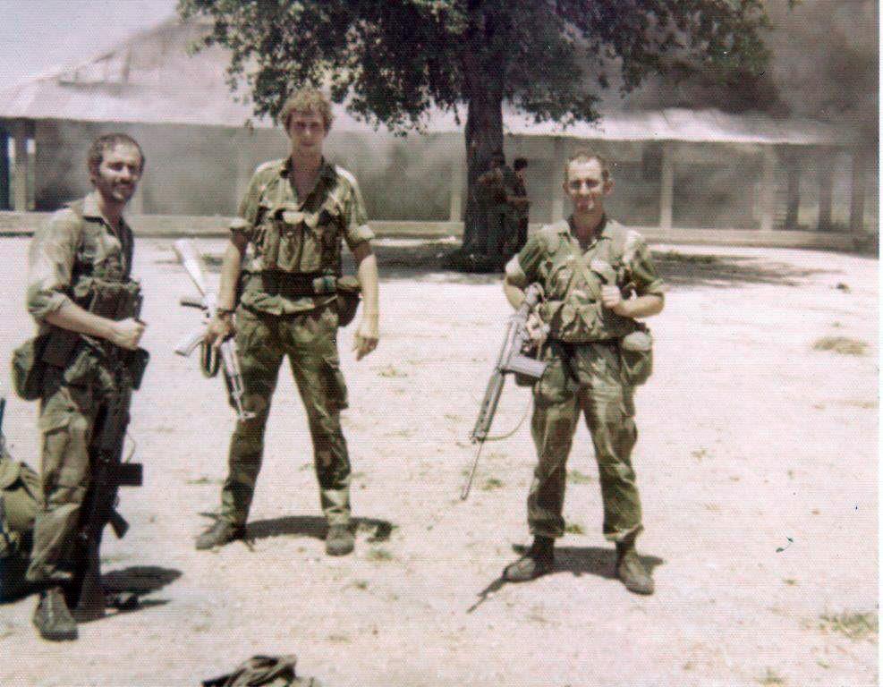実物 ローデシア軍 FAL L1A1 G3 M14 マガジンチェストリグポーチ セルーススカウト SAS 特殊部隊 70年代捕獲品 南アフリカ RECCE 32大隊 _SAS