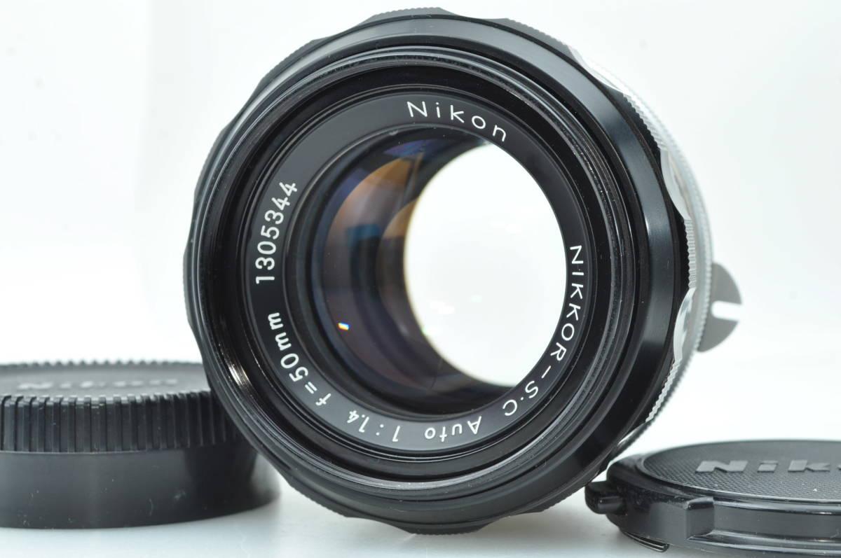 ★極美品★ニコン NIKON NIKKOR-S C AUTO 50mm f1.4 ★完動★#3965