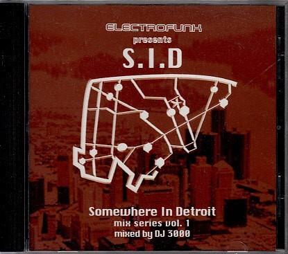 【DJ3000/S.I.D】 UNDERGROUND RESISTANCE/LOS HERMANOS/ELECTROFUNK RECORDS/CD/検索drexciya