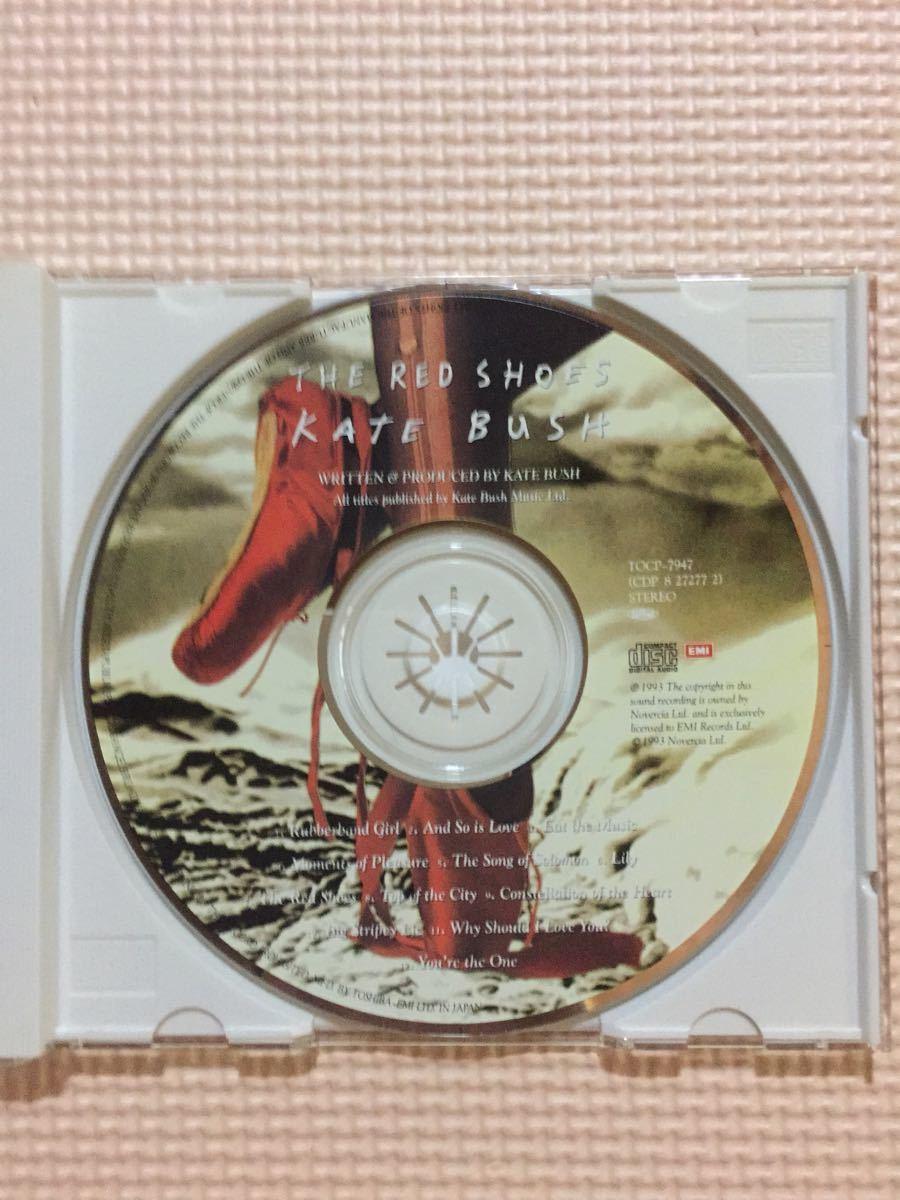ケイト・ブッシュ レッド・シューズ 国内盤CD【ポスタージャケット】_画像3