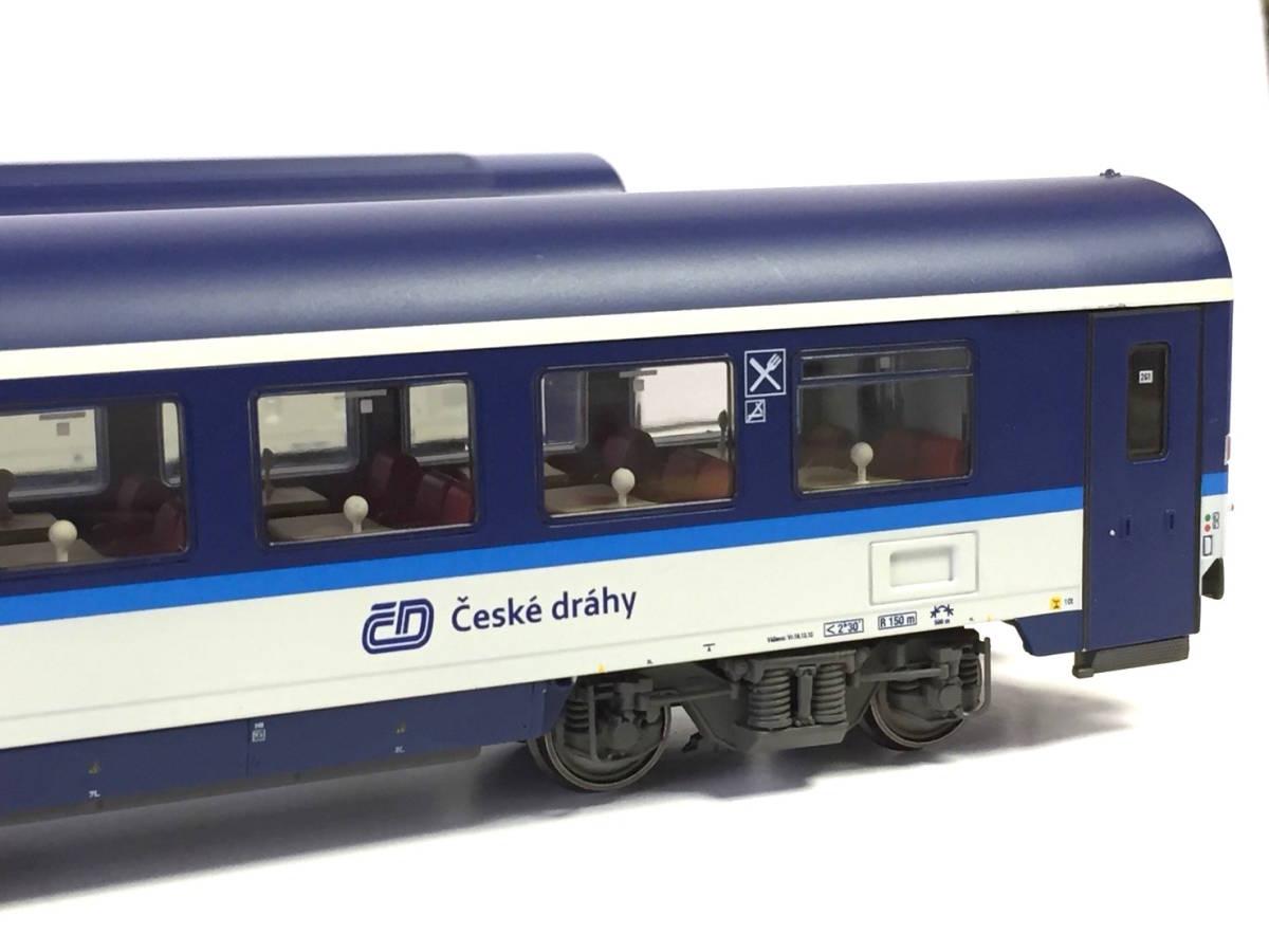 新品★チェコ鉄道EC客車 食堂車+2等車客車セット★ACME 55171★CD Ceske drahy★_画像4