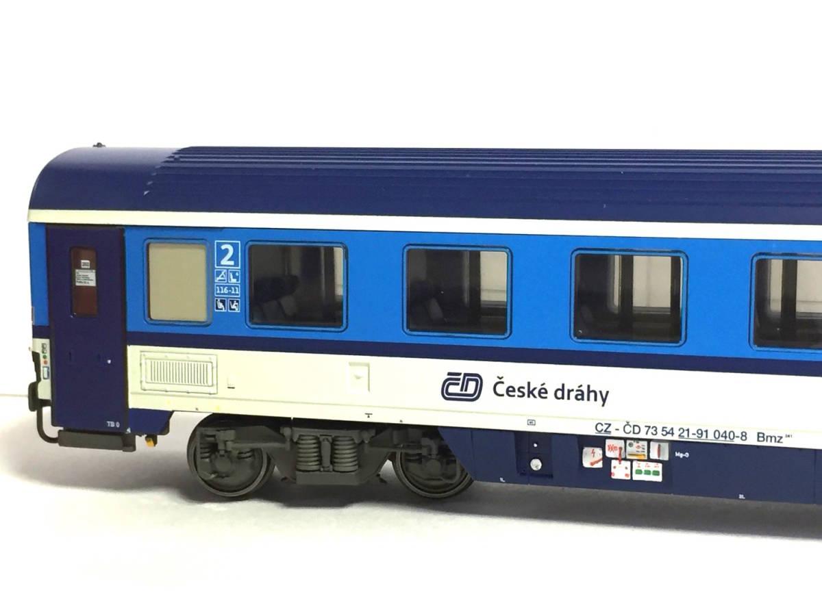 新品★チェコ鉄道EC客車 食堂車+2等車客車セット★ACME 55171★CD Ceske drahy★_画像6