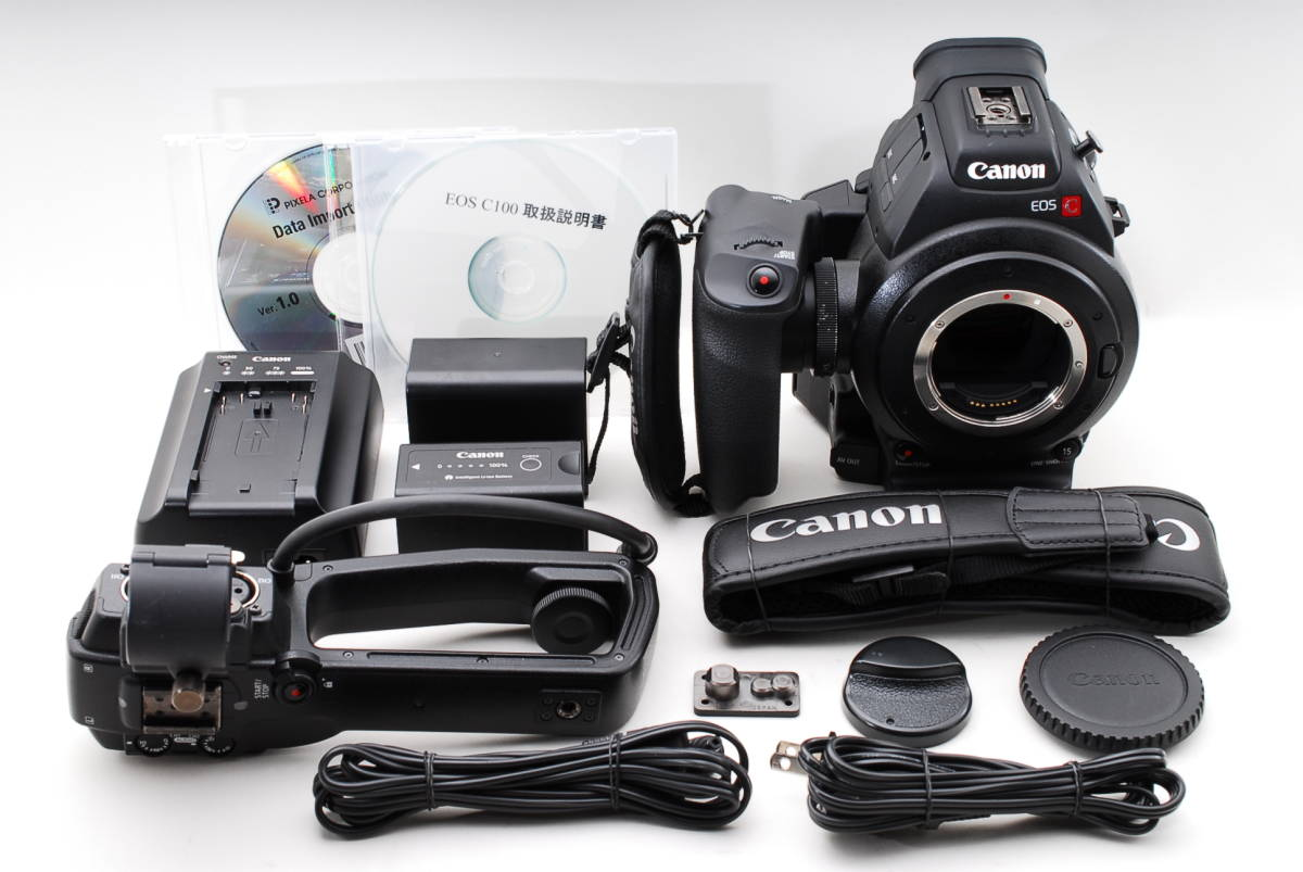 beautiful goods * CANON Canon EOS C100 AF dual pixel AF up