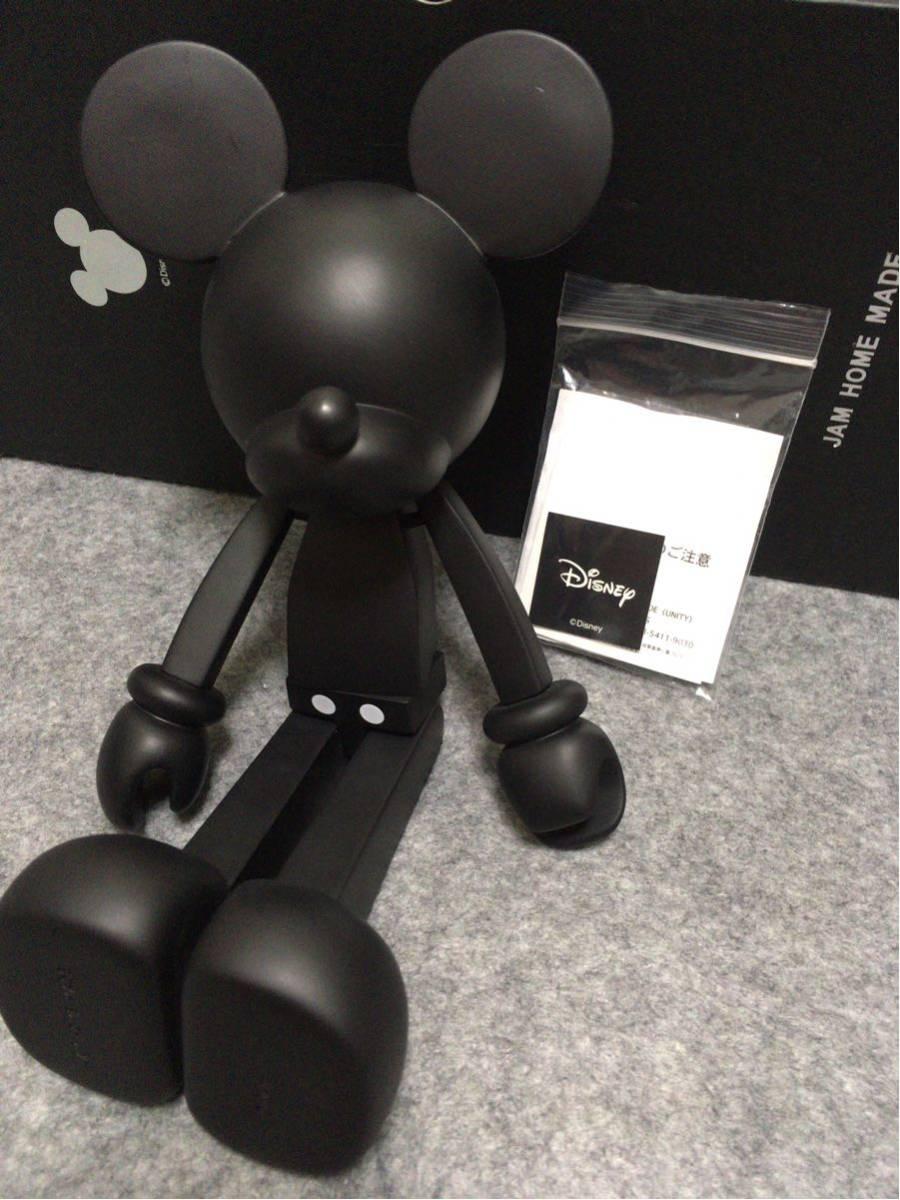 jam home made×disneyミッキー フィギュア 黒 ジ - ヤフオク!