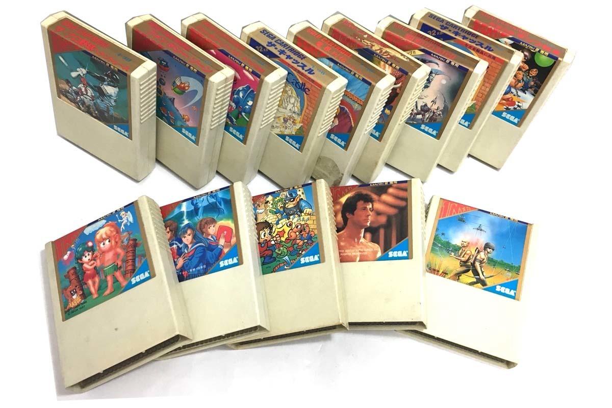 SEGA/セガ ゴールドカートリッジ マーク3 マークⅢ セガマイカード SC3000 SG1000 カセット おまとめ d_画像3