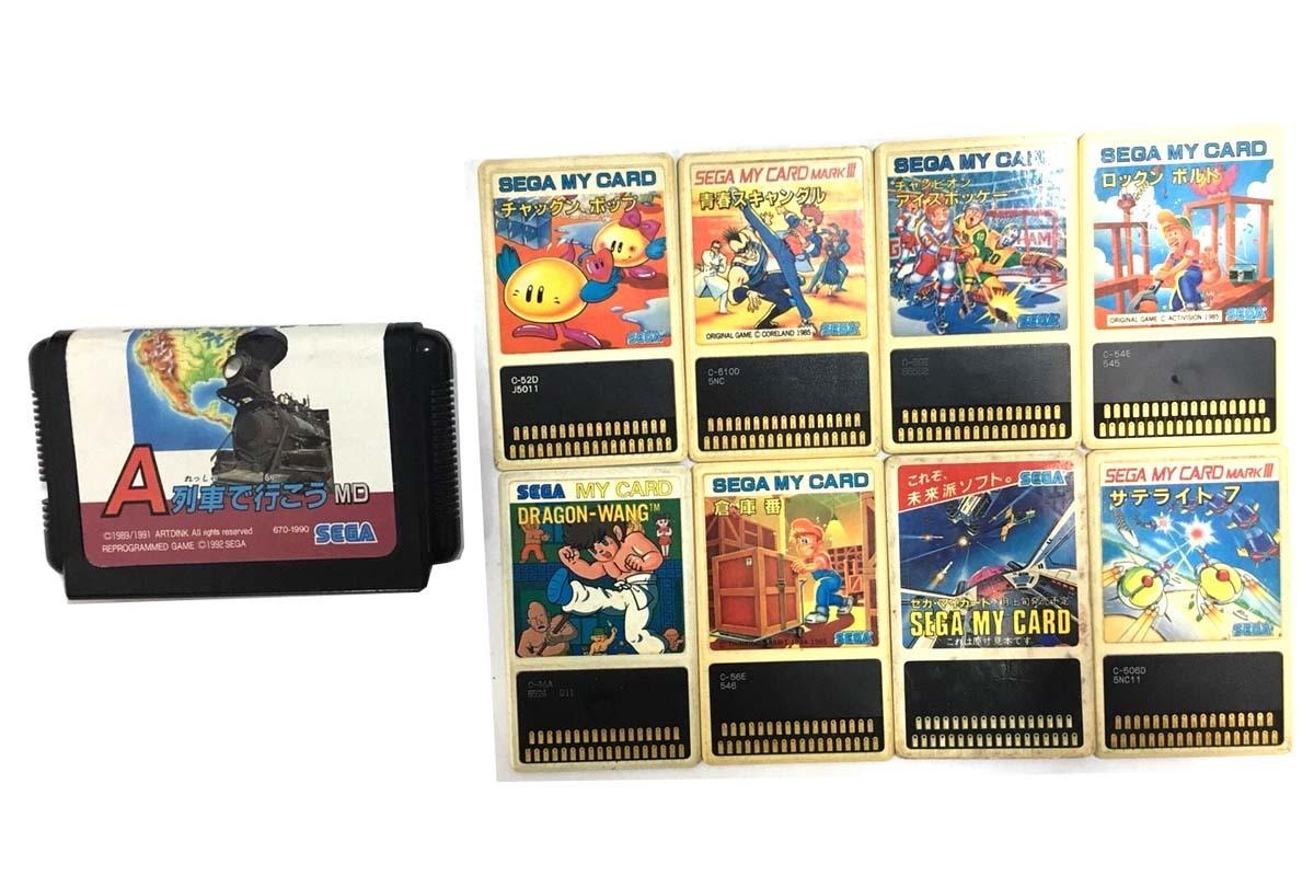 SEGA/セガ ゴールドカートリッジ マーク3 マークⅢ セガマイカード SC3000 SG1000 カセット おまとめ d_画像4
