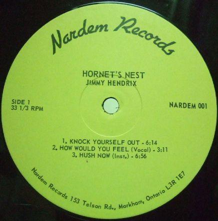3枚で送料無料【加Nardem】Jimi Hendrix/Hornets Nest_画像2