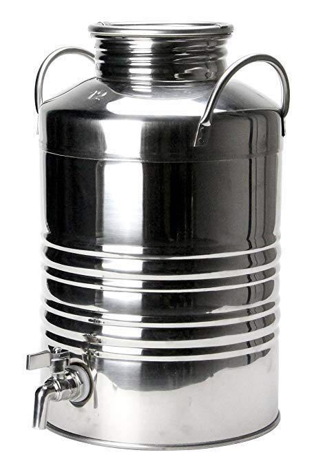 新品★送料無料★マルキジオ オイルドラム 12L marchisio Oil Drum ウォータージャグ ステンレス製オイルディスペンサー