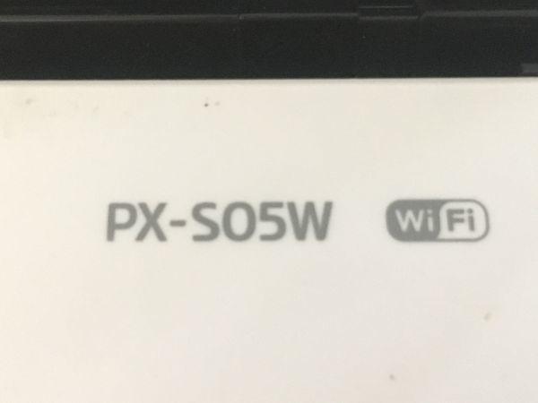 EPSON エプソン A4対応 モバイルプリンター PX-S05W wi-fi対応 ホワイト F007005_画像3