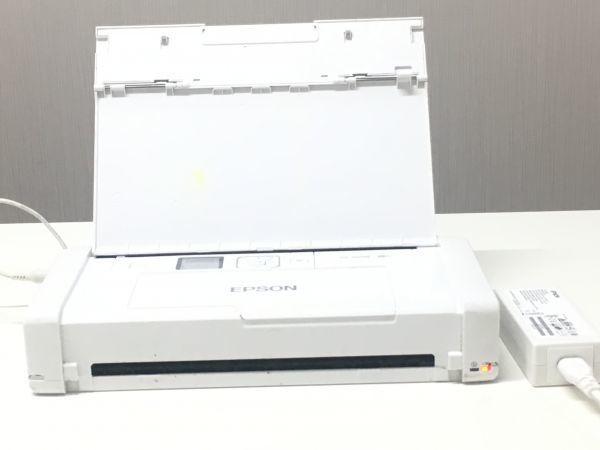 EPSON エプソン A4対応 モバイルプリンター PX-S05W wi-fi対応 ホワイト F007005_画像1