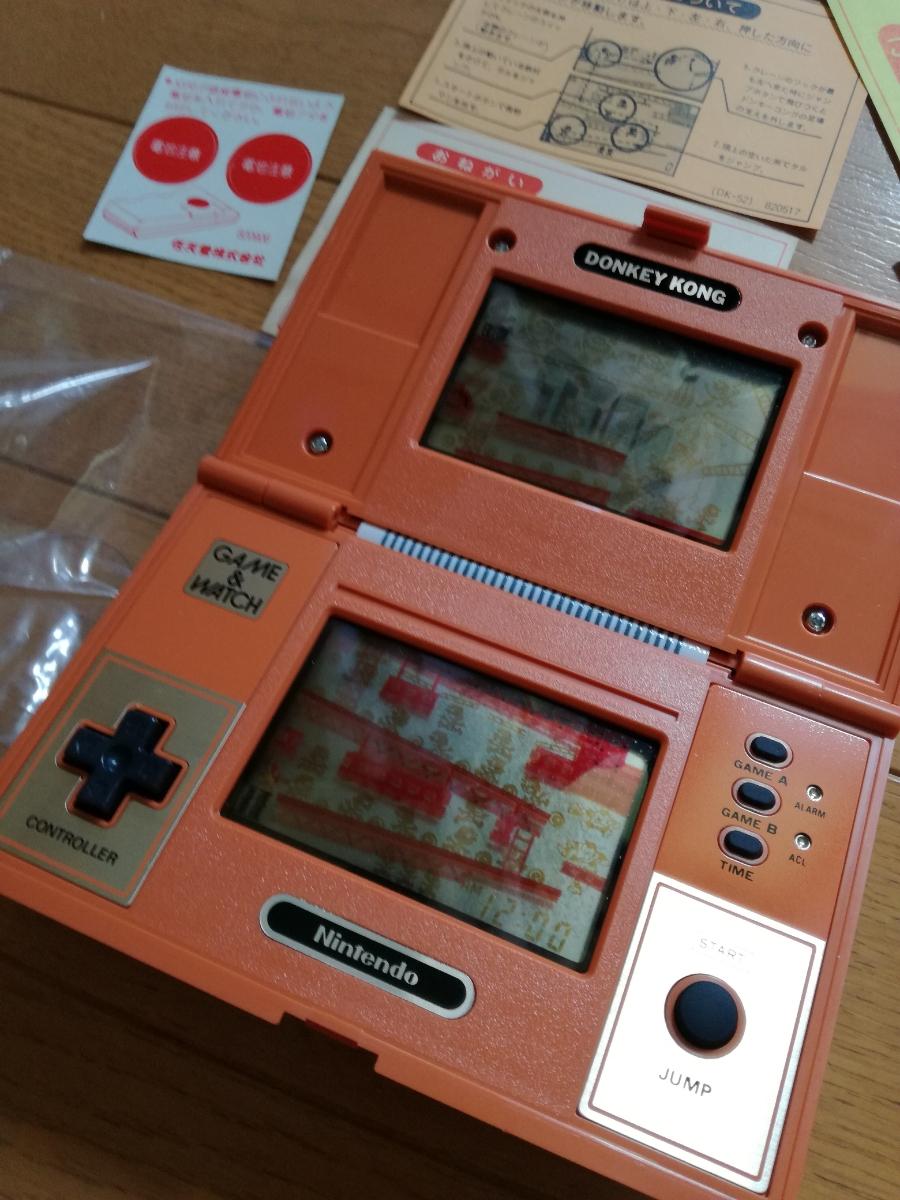 ゲームウォッチ Game & watch ドンキーコング DK 52 任天堂_画像3