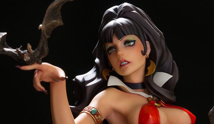 ロッキンジェリービーン スーパーミクスチャーモデル vol.3/ バンピレラ(Vampirella) フィギュア _画像2