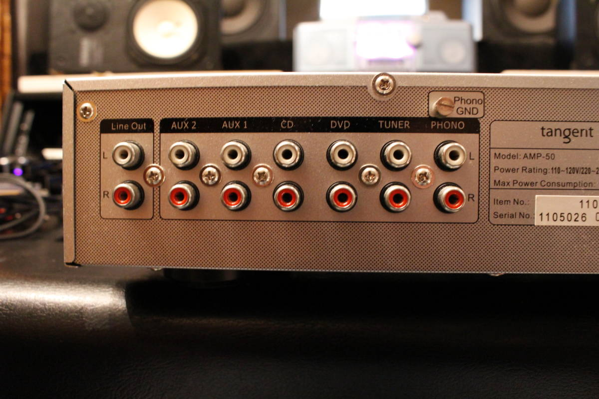 TANGENT ステレオアンプ AMP-50_画像6