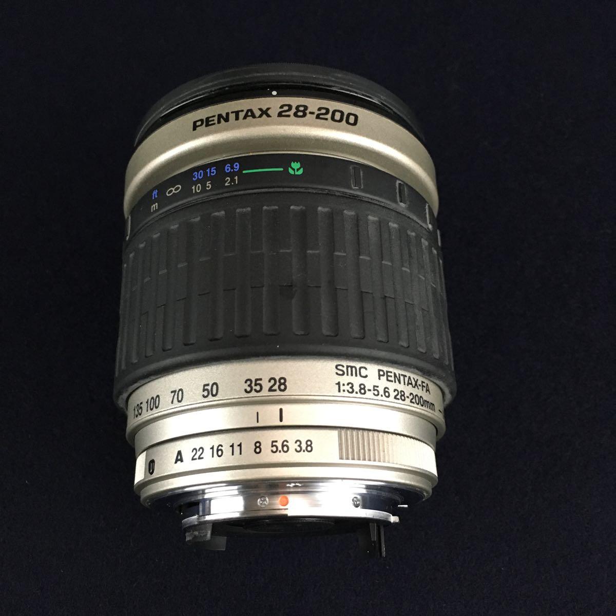 PENTAX-FA 43mm 1.9 Limited / FA 28-200mm 3.8-5.6 オートフォーカスレンズ2点_画像3