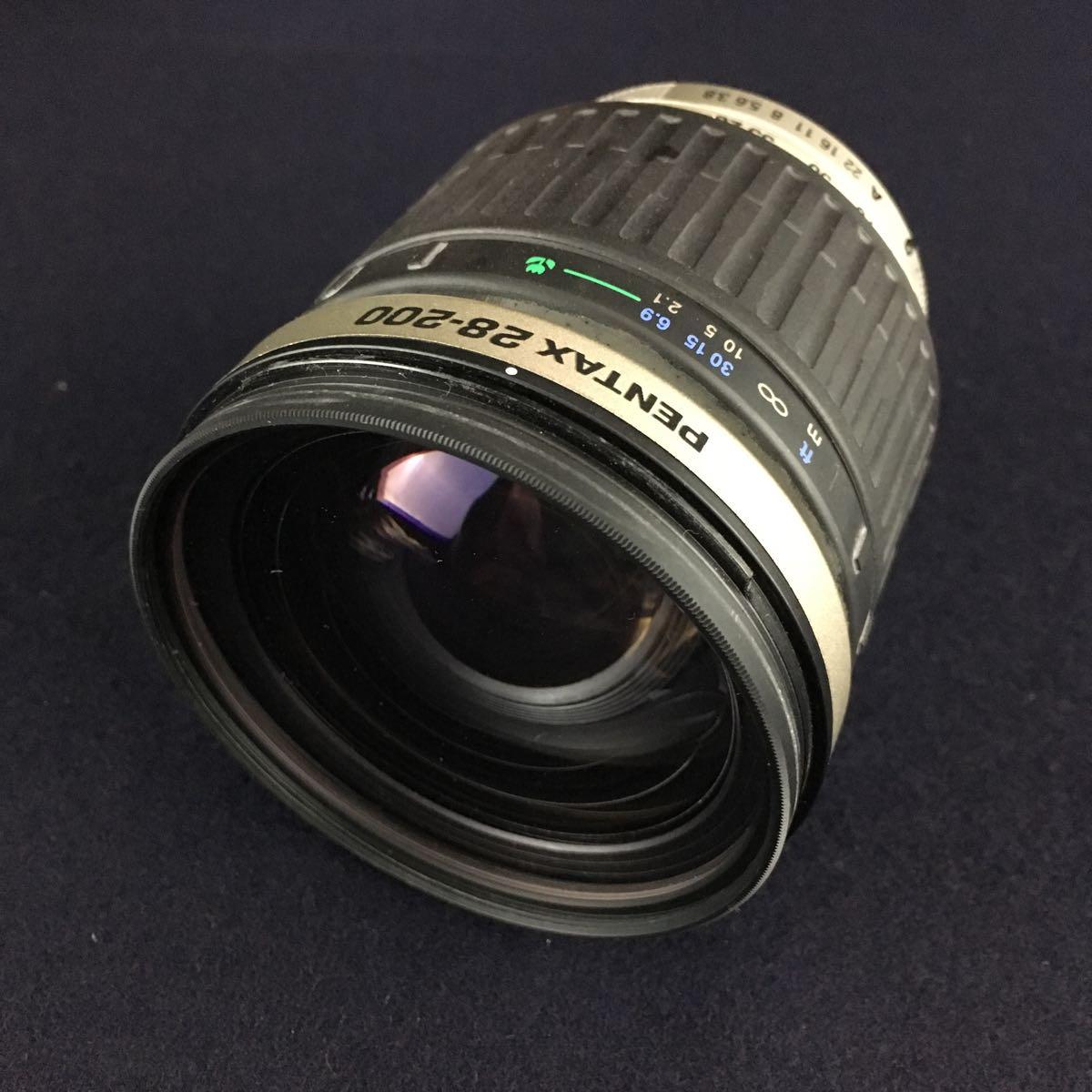 PENTAX-FA 43mm 1.9 Limited / FA 28-200mm 3.8-5.6 オートフォーカスレンズ2点_画像2