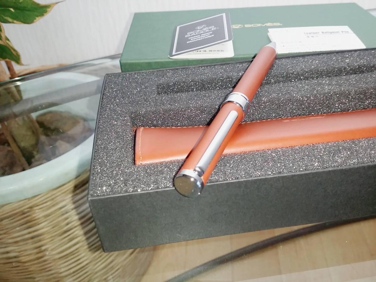 ソメスサドル SOMES SADDLE ボールペン ペンケース セット コカコーラ記念品_画像4