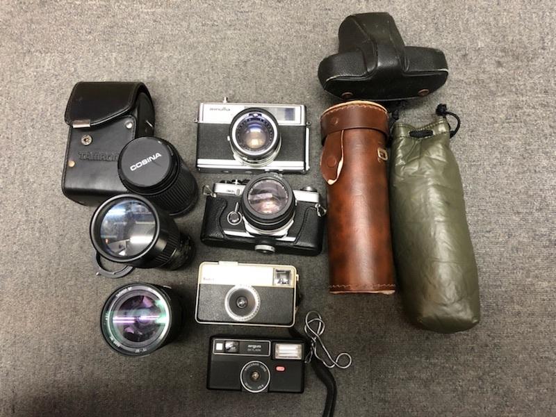 ★カメラ、レンズおまとめ MINOLTA ミノルタ、TAMRON タムロンなど【ジャンク品】★