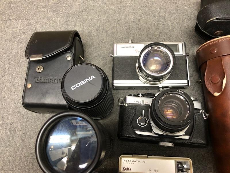 ★カメラ、レンズおまとめ MINOLTA ミノルタ、TAMRON タムロンなど【ジャンク品】★ _画像2