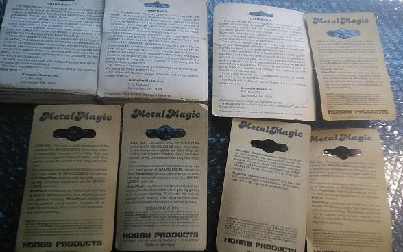 【未開封デッドストック】グラナディア ホビープロダクツ Grenadier HOBBY PRODUCTS まとめて14体 メタルフィギュア【80年代絶版品】_画像2
