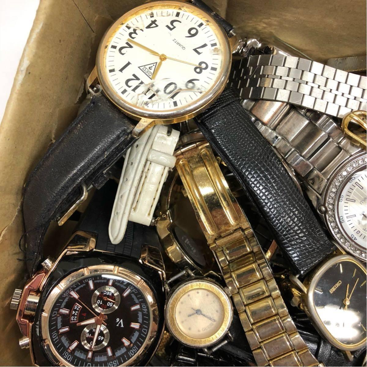 019 腕時計 300個以上 大量 まとめて ジャンク SEIKO GRUEN WALTHAM CITIZEN CASIO GUESS ELGIN WESTCLOX お宝あるかも_画像5