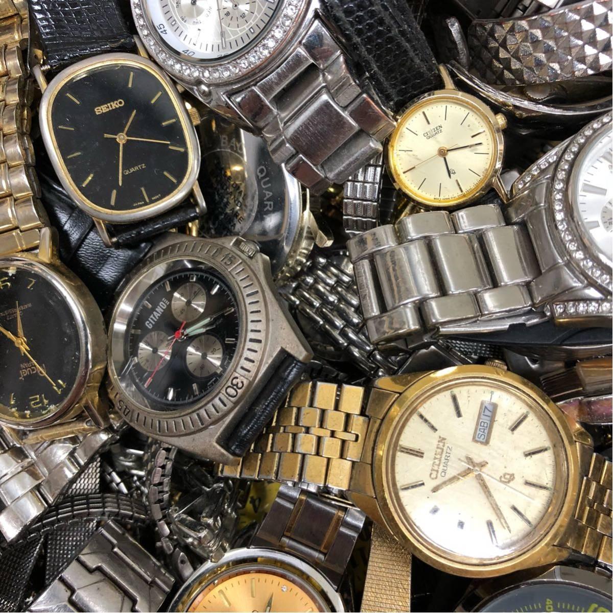 019 腕時計 300個以上 大量 まとめて ジャンク SEIKO GRUEN WALTHAM CITIZEN CASIO GUESS ELGIN WESTCLOX お宝あるかも_画像2