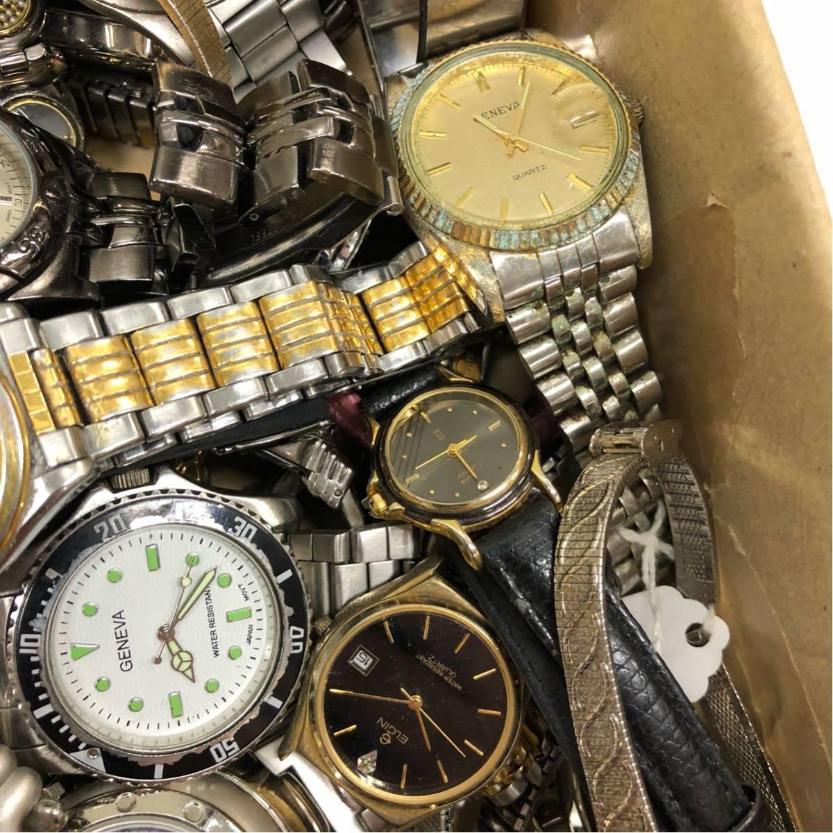 019 腕時計 300個以上 大量 まとめて ジャンク SEIKO GRUEN WALTHAM CITIZEN CASIO GUESS ELGIN WESTCLOX お宝あるかも_画像9