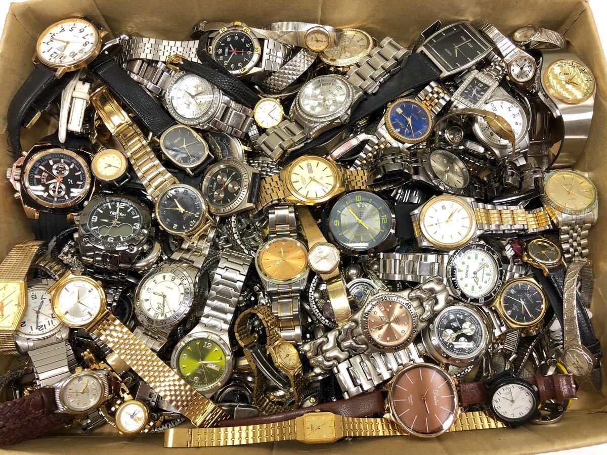 019 腕時計 300個以上 大量 まとめて ジャンク SEIKO GRUEN WALTHAM CITIZEN CASIO GUESS ELGIN WESTCLOX お宝あるかも