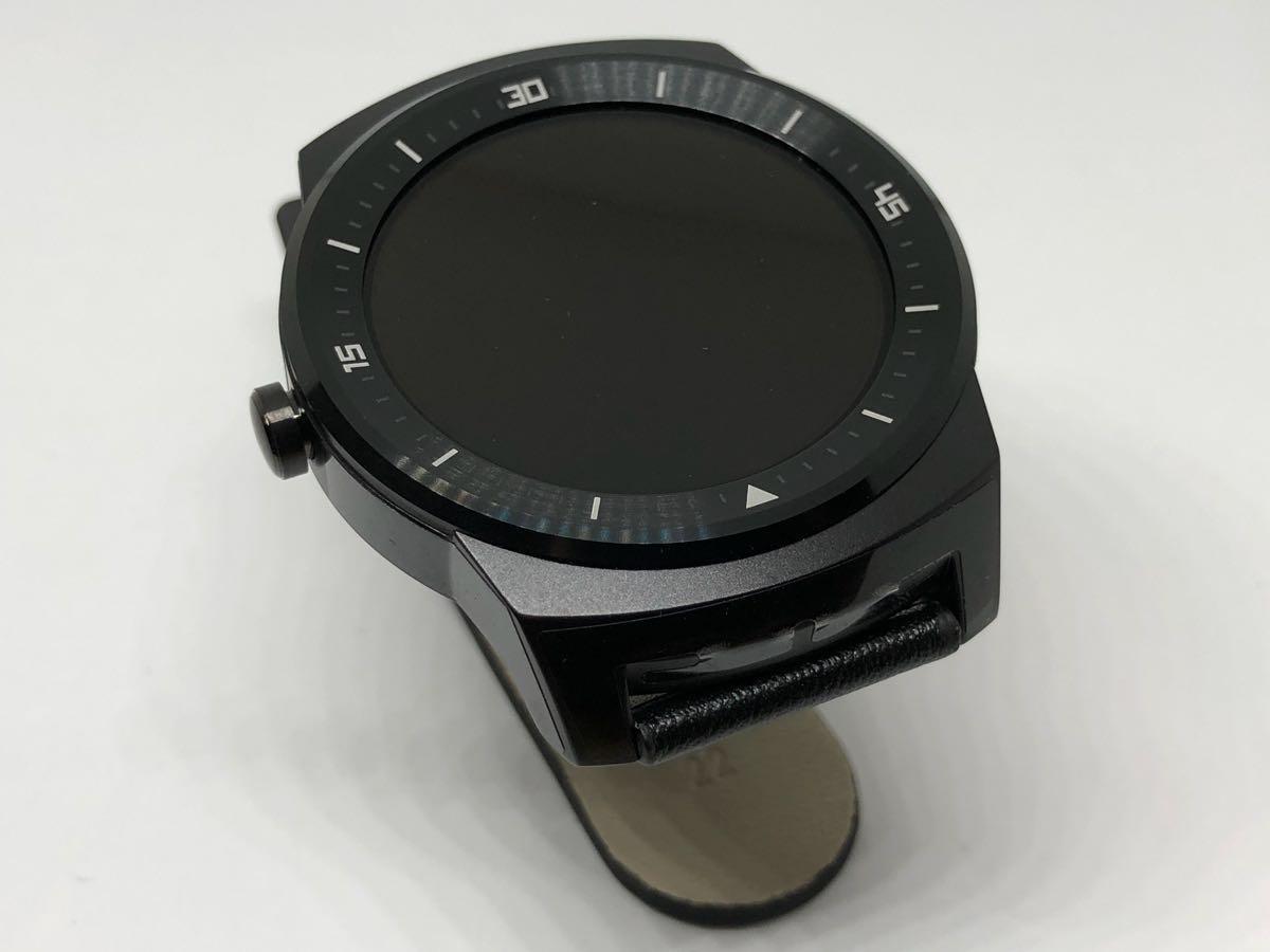 未使用品 LG G Watch R powered by Android Wear W110 ウエアラブル_画像4