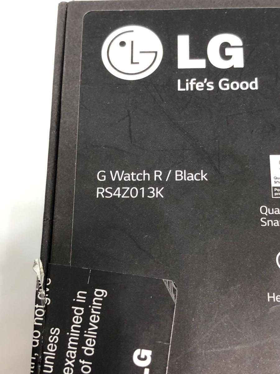 未使用品 LG G Watch R powered by Android Wear W110 ウエアラブル_画像9