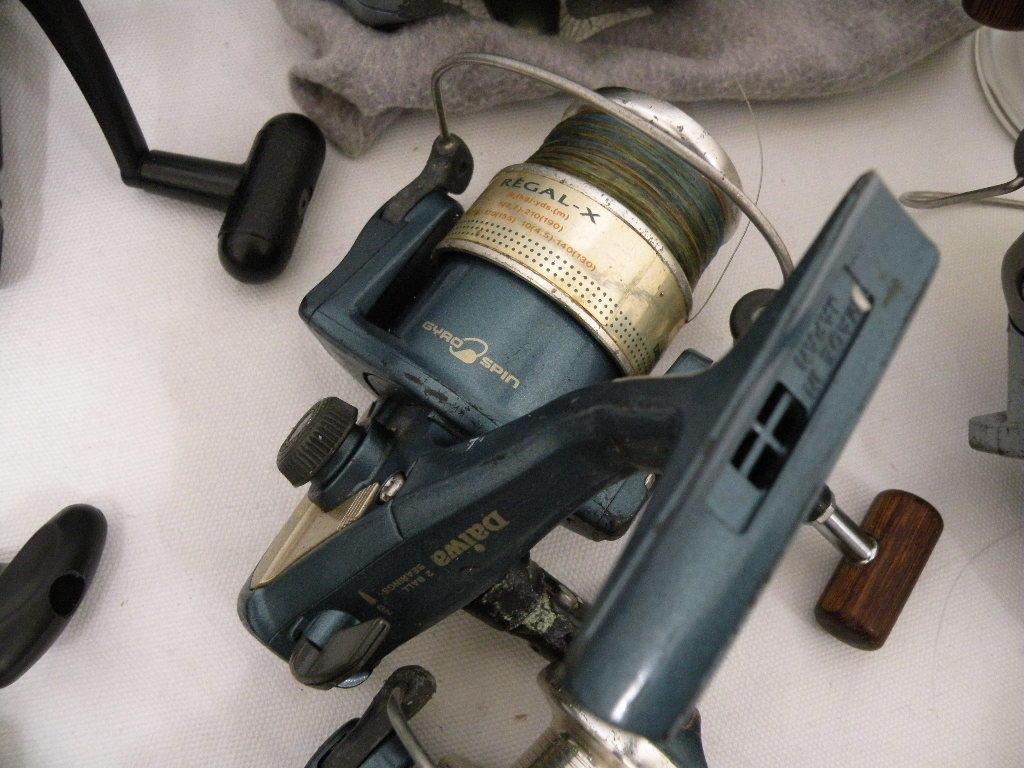 【I-408】釣り道具☆リール色々まとめて☆フィッシング 釣具☆中古品_画像4