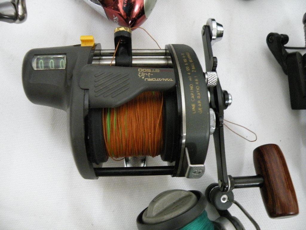 【I-408】釣り道具☆リール色々まとめて☆フィッシング 釣具☆中古品_画像6
