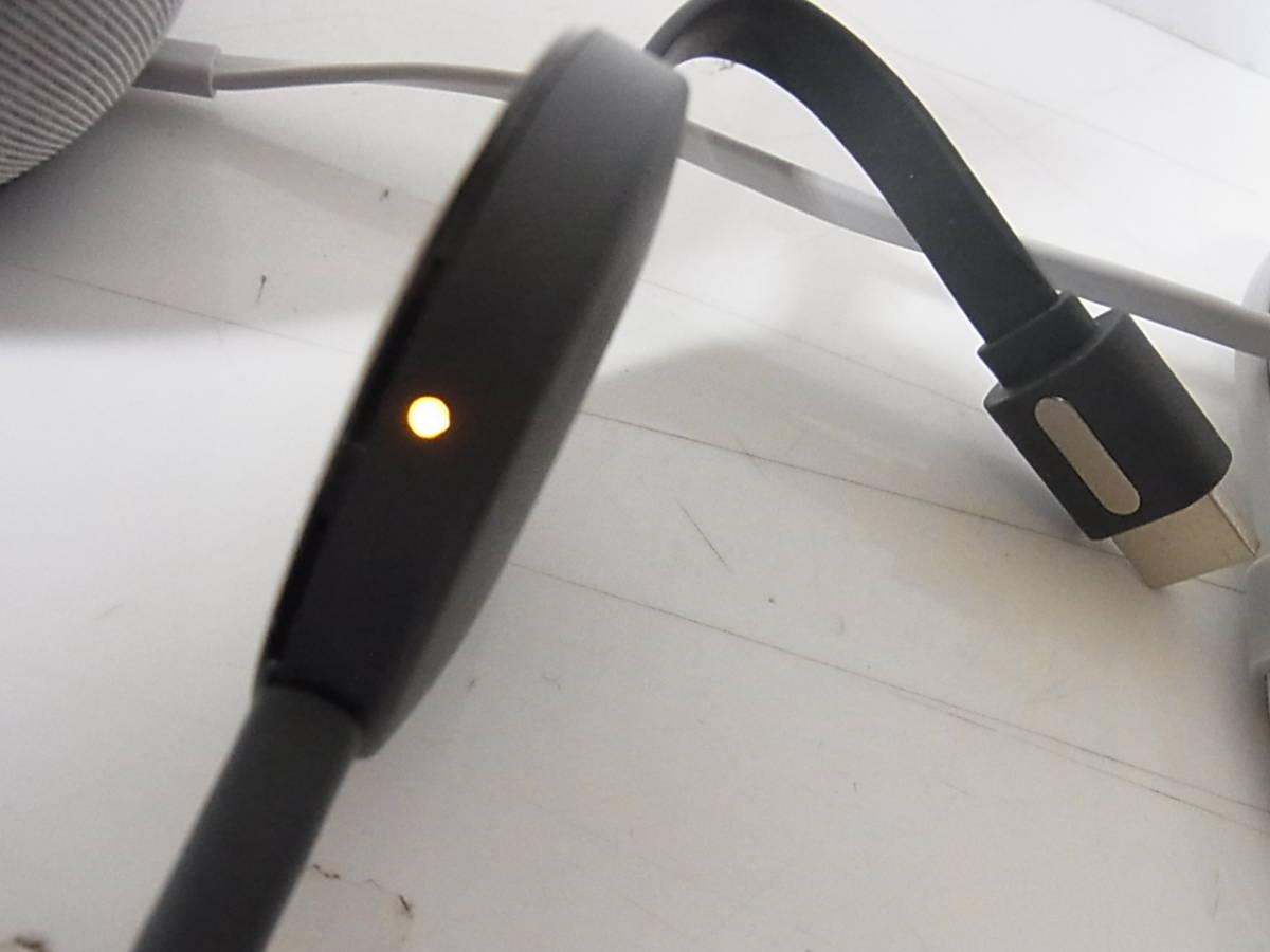 1円~ Google(グーグル) 第2世代 chromecast(クロームキャスト) ブラック NC2-6A5☆彡_画像4