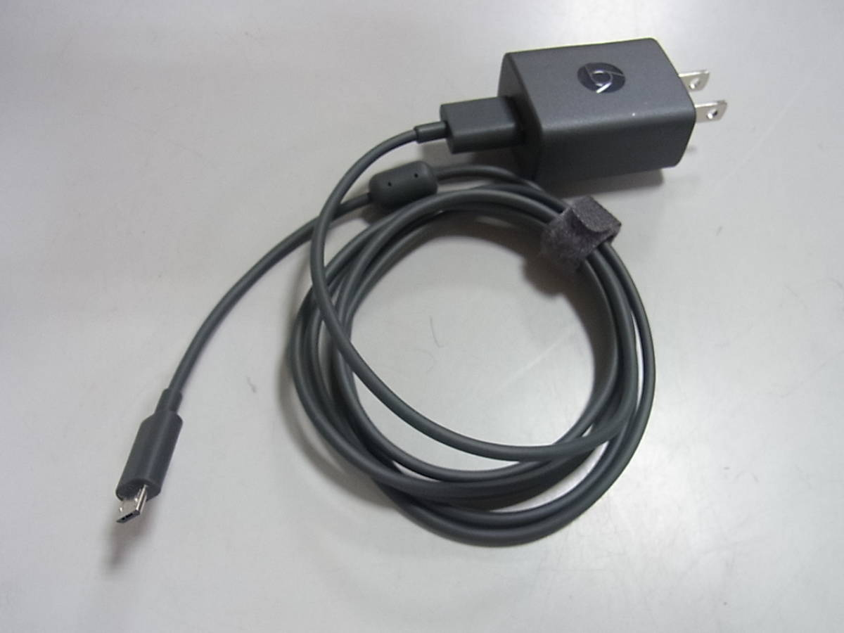 1円~ Google(グーグル) 第2世代 chromecast(クロームキャスト) ブラック NC2-6A5☆彡_画像5