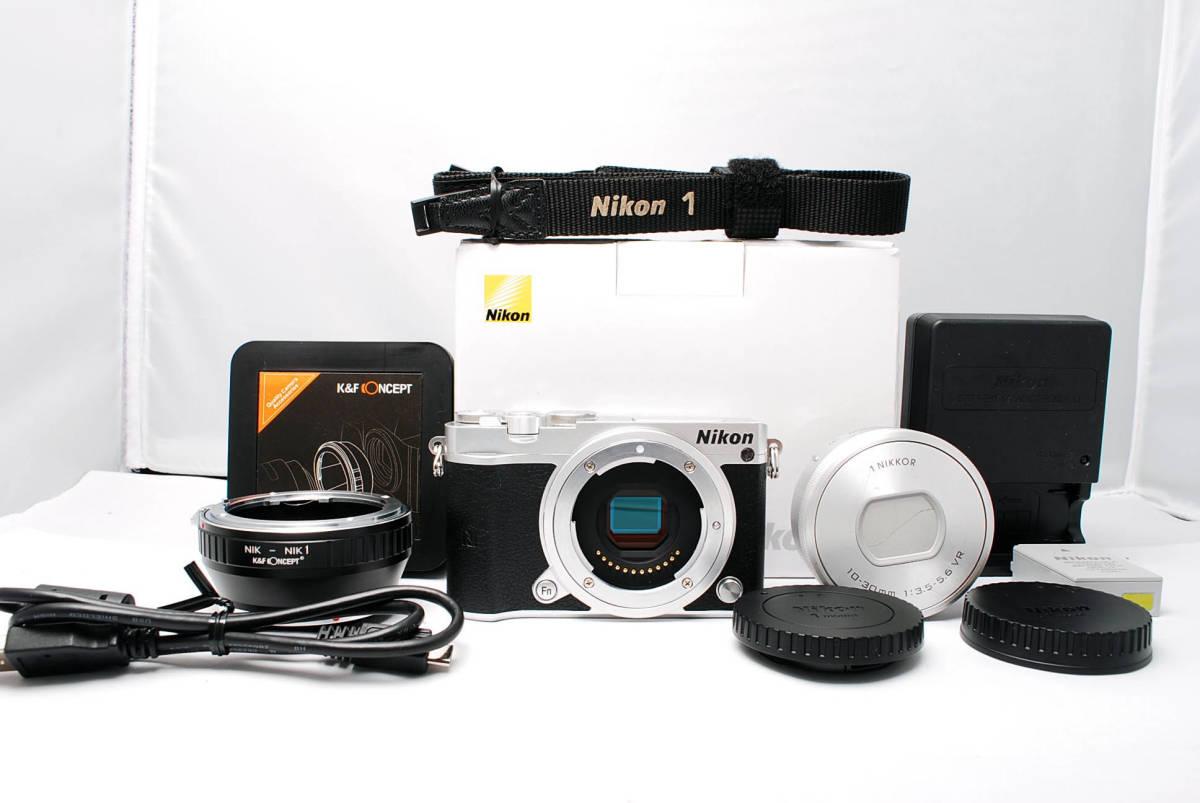 ★インスタにオススメ! ★小型・軽量 ニコン Nikon1 J5 レンズキット ★プラスアルファ(18JL08-012)